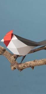 Paper Bird Mobile Wallpaper