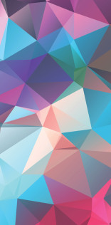 Polygonal Abstraction Mobile Wallpaper