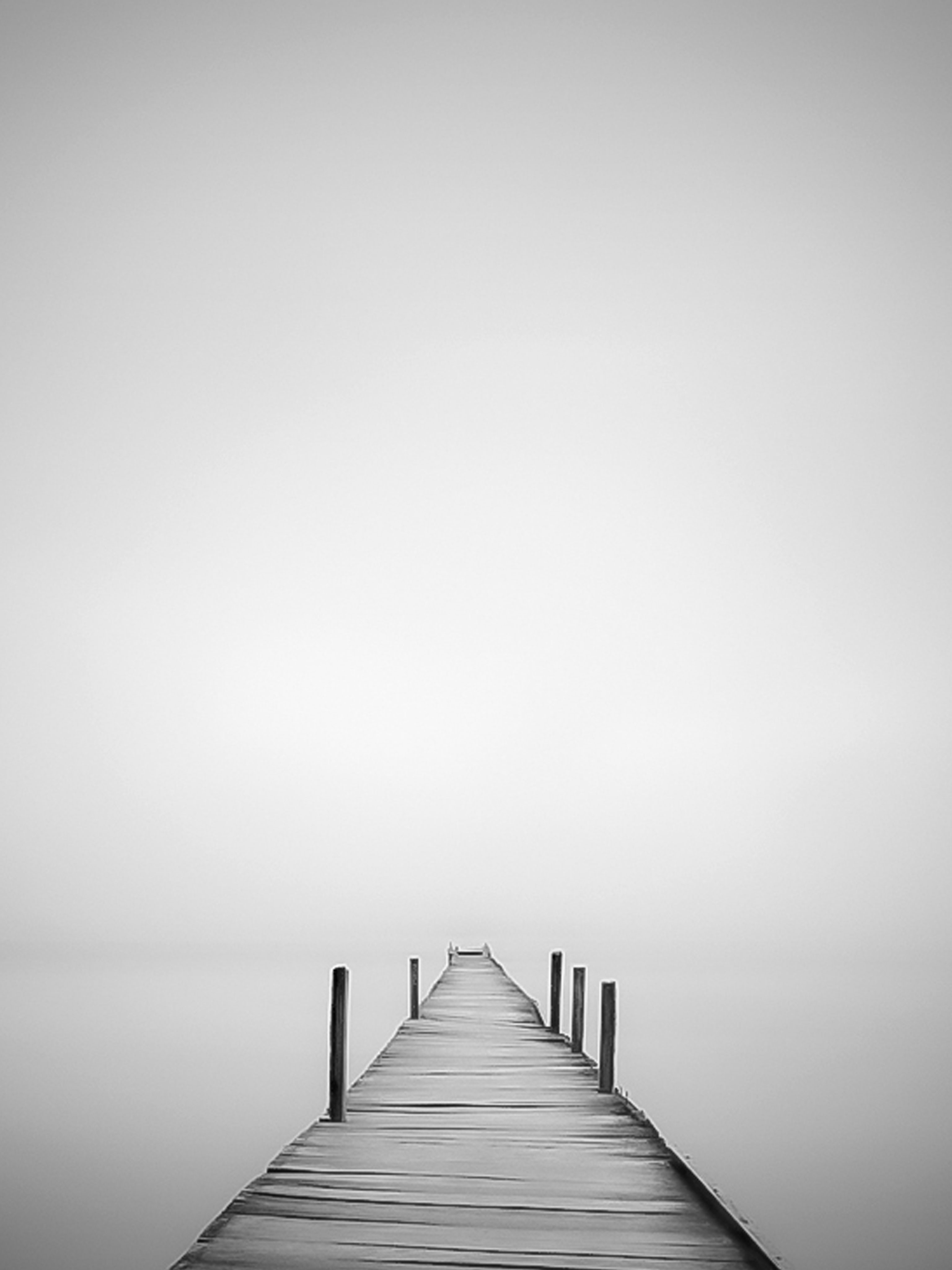 Pier in mist mobile wallpaper miniwallist download for ios voltagebd Images