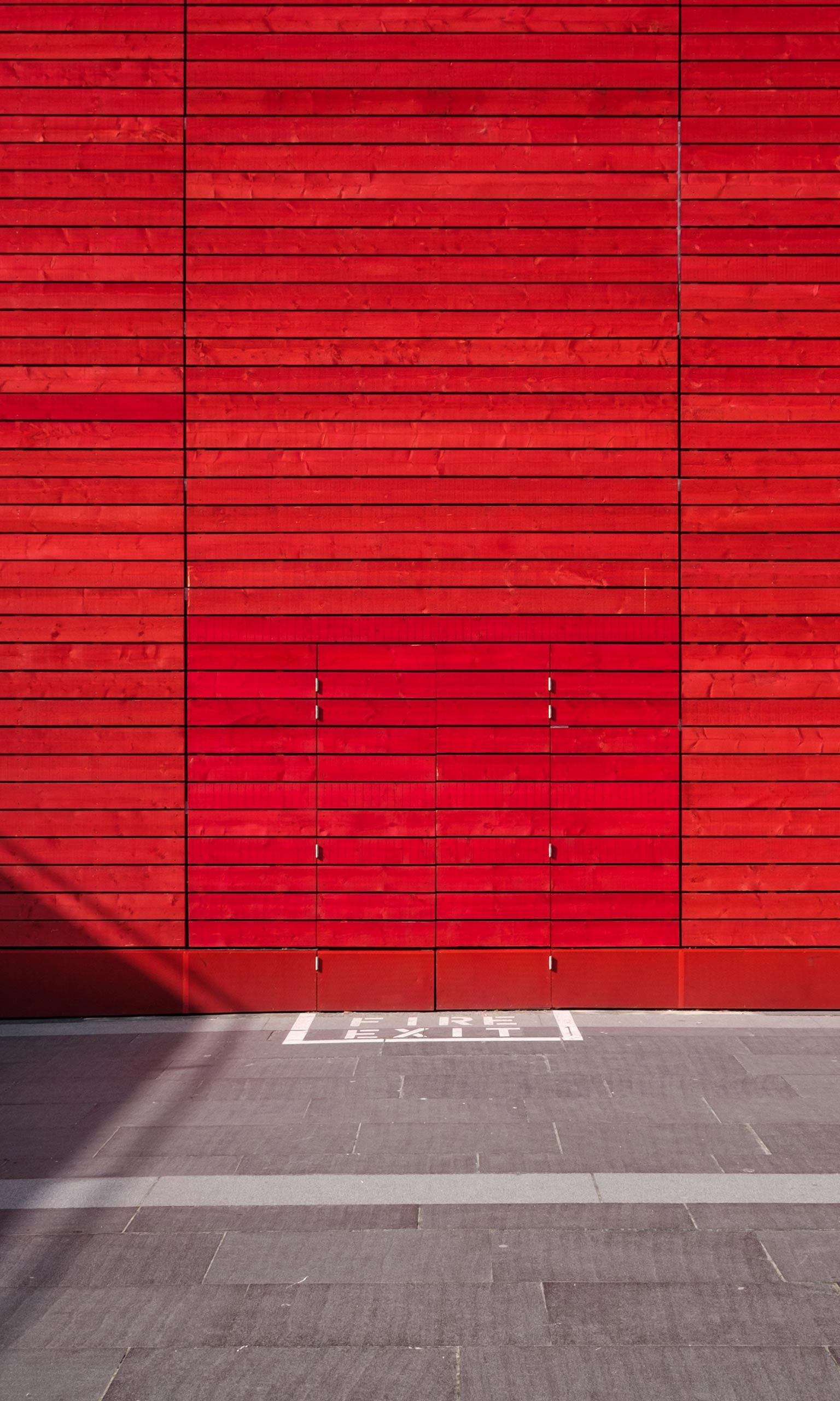 fire exit mobile wallpaper | miniwallist