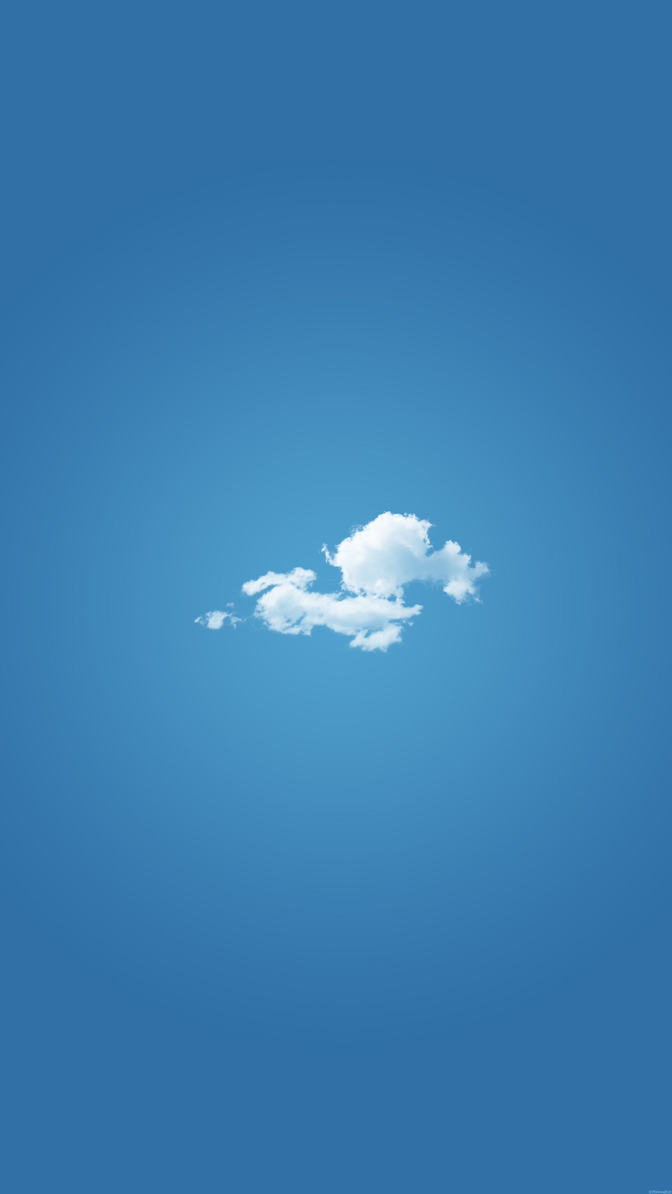 White Cloud Mobile Wallpaper Miniwallist