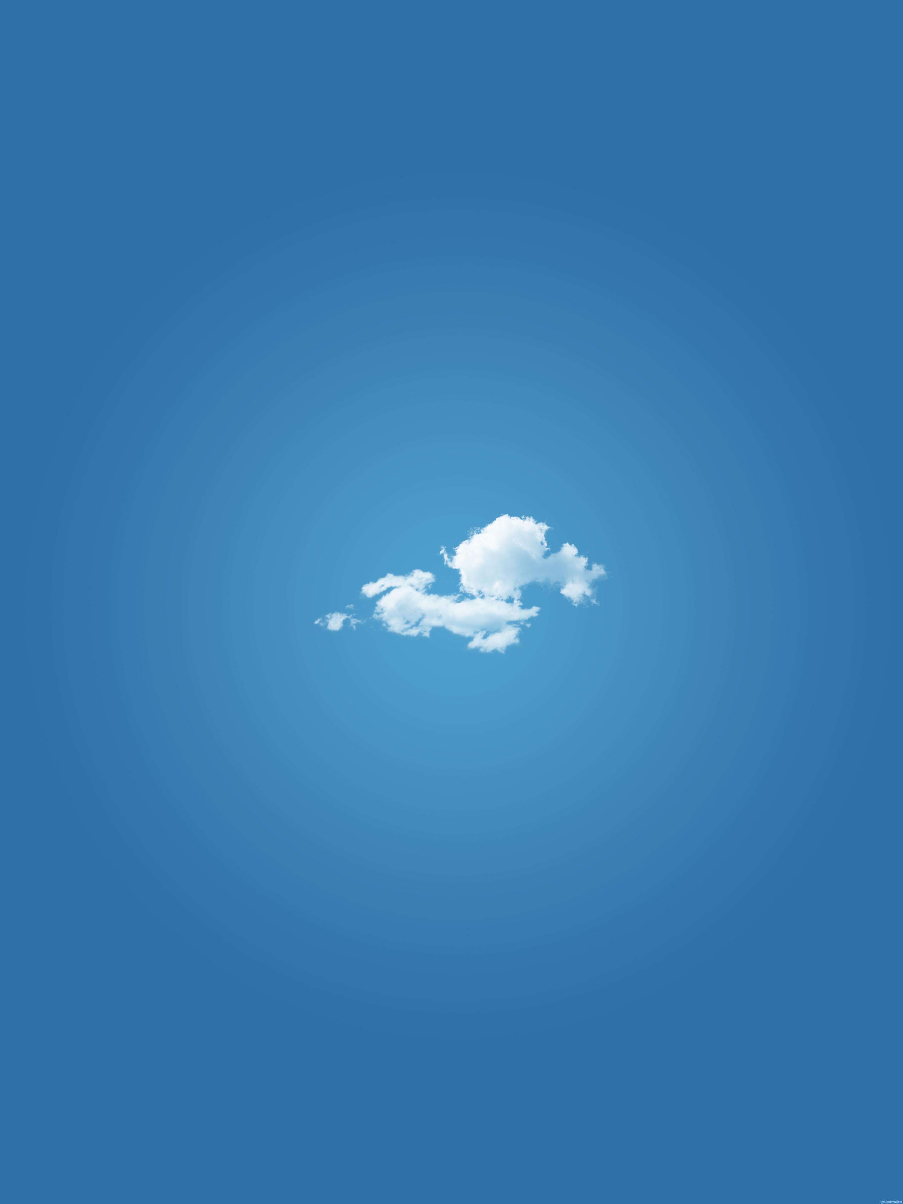 White Cloud Mobile Wallpaper Miniwallist