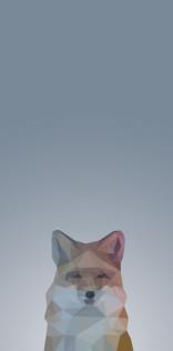 Low Poly Fox Mobile Wallpaper