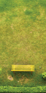 Yellow Bench Mobile Wallpaper
