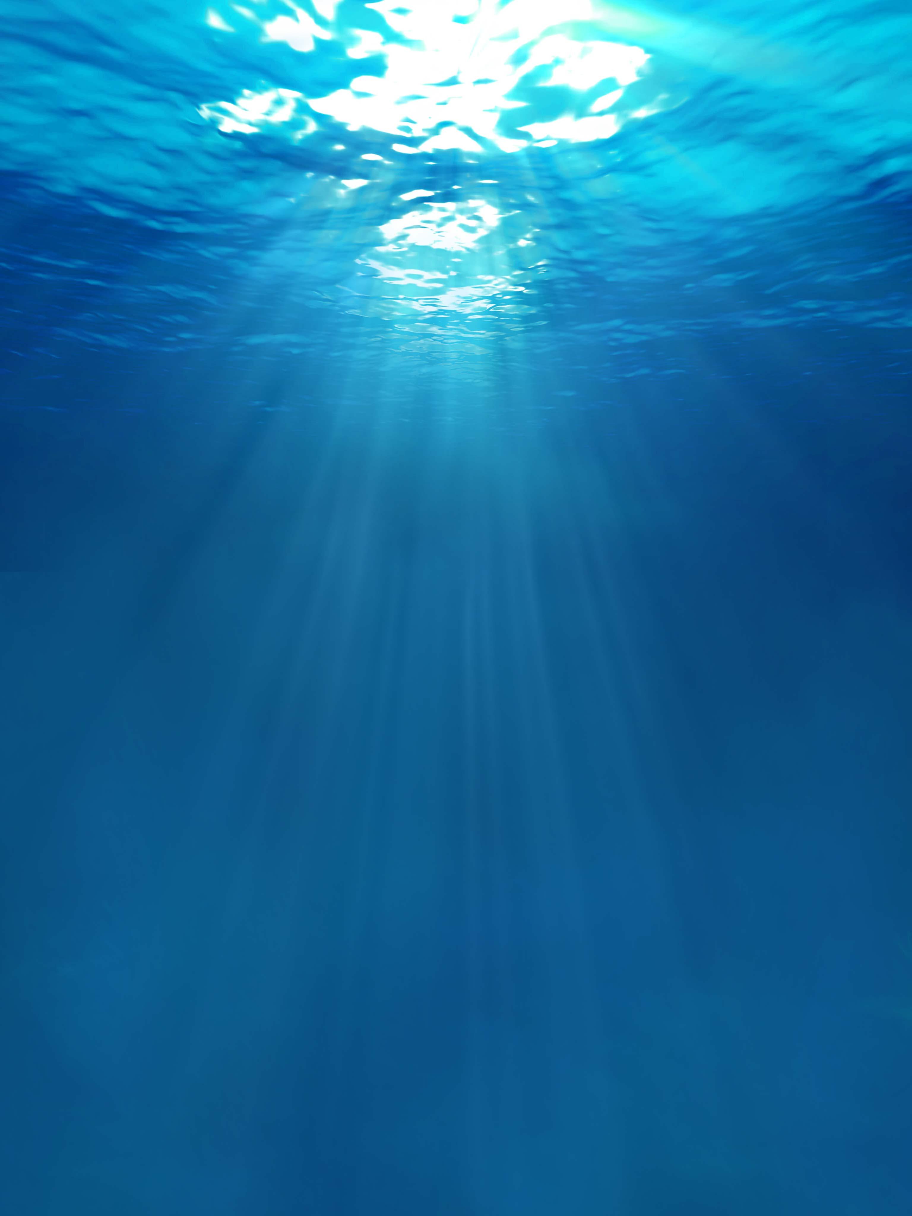 Underwater Sun Rays Mobile Wallpaper Miniwallist