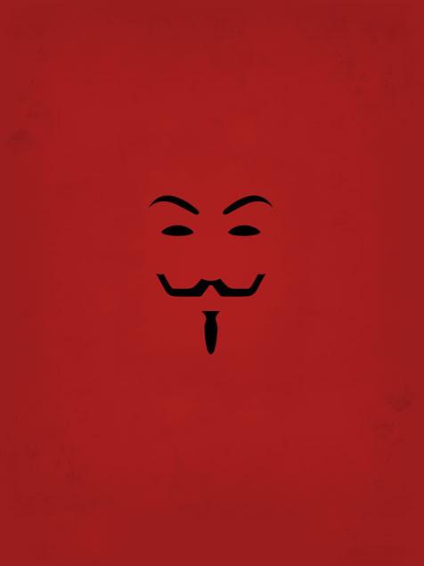 V For Vendetta Mobile Wallpaper